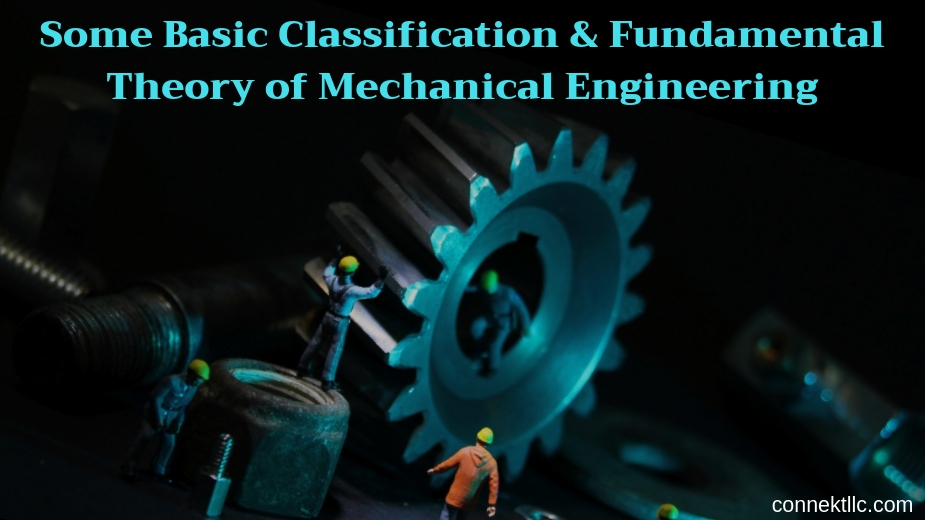 SomeBasicClassificationFundamentalTheoryofMechanicalEngineering