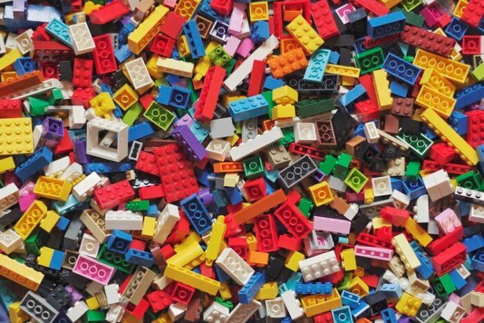 colorful lego