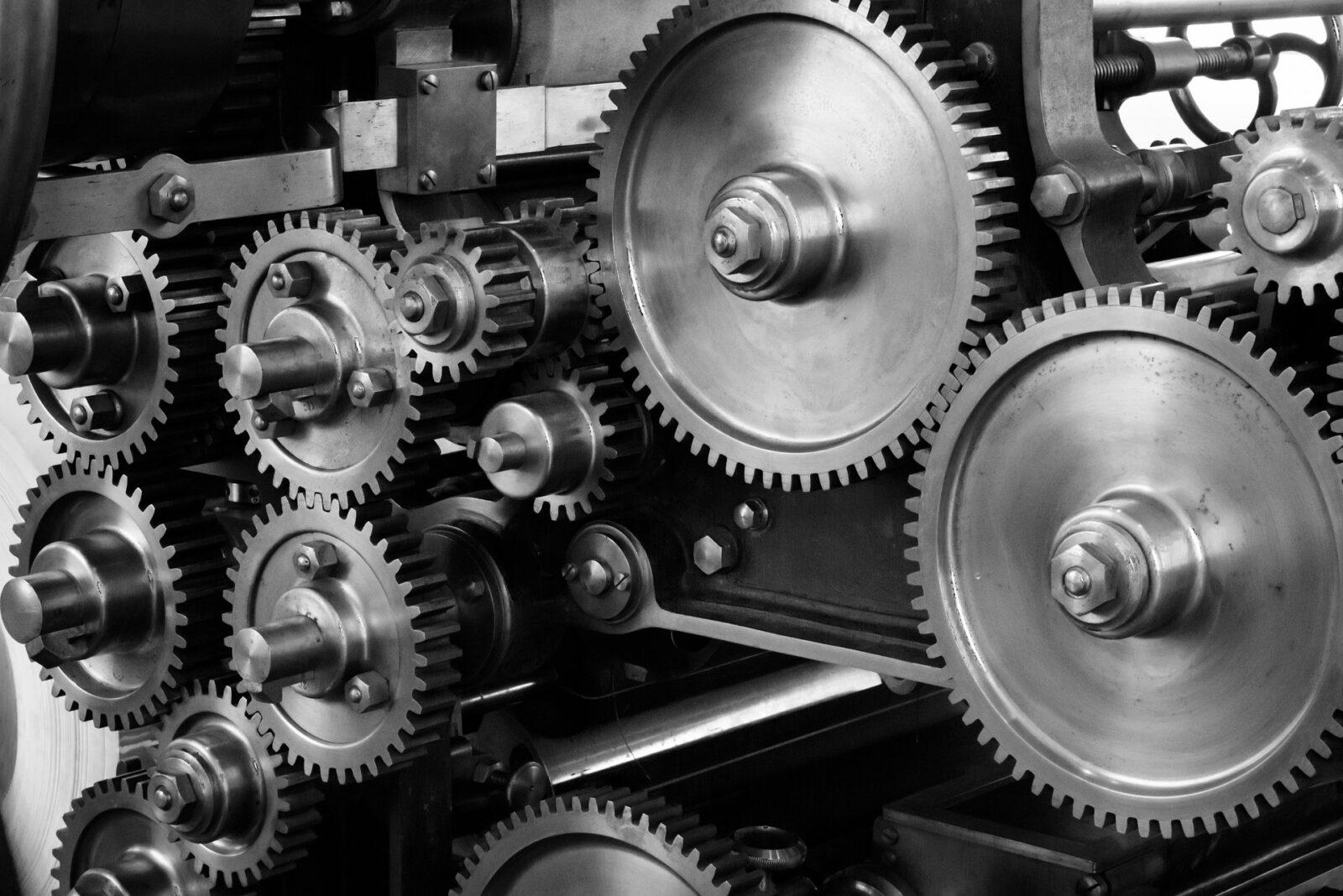Multiple mechanical gears