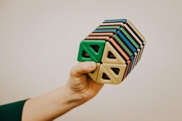 An object created using 3D printer technology